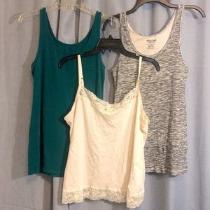 Bundle of 3 XL tanks Elle, Merona, Mossimo